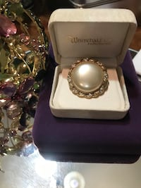 Pretty! Gold Vintage Victorian Pearl Pin/Brooch Gainesville, 20155