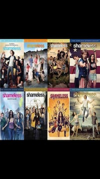 Shameless seasons 1-8. Calgary, T3G