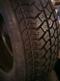 One Michelin MXV Tire 195/65R14