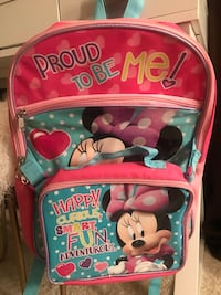 Brand New Minnie Mouse Backpack & Lunchbag Fresno, 93720