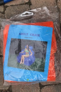 Adult Blow Up Chair