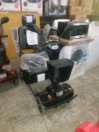 black and gray mobility scooter Mississauga, L4X 1R1