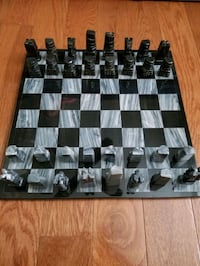Handcrafted Marble Chess Set.