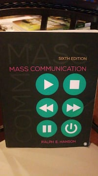 Mass communication 6th edition  Severn, 21144