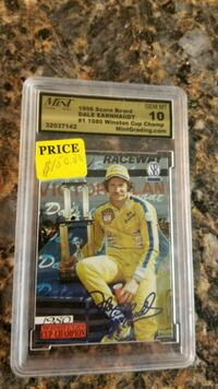 Dale Earnhardt graded card  North Haven, 06473