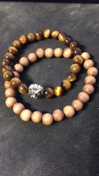 Tigers Eye and Wood 2 Bracelets Albuquerque, 87106