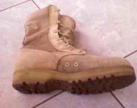 beige suede tactical boot Shirley, 11967
