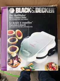 Black and decker shell baker Cambridge, N1R