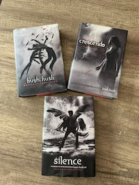 Hush hush book series #1-3 Waterloo, N2T 1Z9