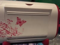 Pink and white Cuttlebug die cut machine with dies and folders! Lexington, 40503