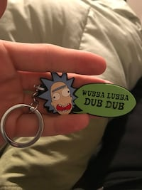 Rick and morty keychain American Fork, 84003