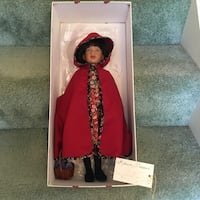 Red Riding Hood Doll by Robert Tonner Columbia