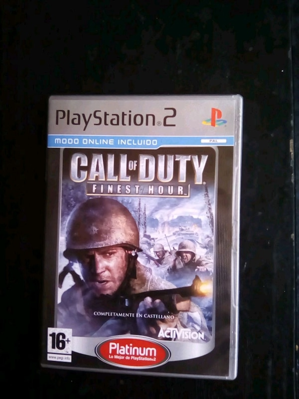 PS2 Call of Duty.finest hour