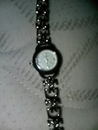 round silver analog watch with link bracelet Greenville, 29601