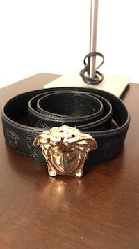 black and brown leather belt New York, 10456