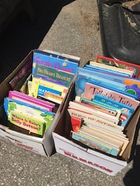 boxes of kids books