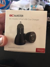 Two port car charger brand new in box Redford, 48239