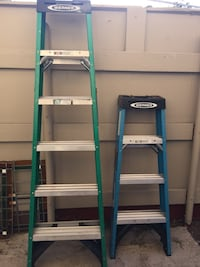 2 Werner Ladders For Sale {6FT x 4FT}