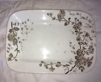 Platter from the 1800's 12 by 9 Burlington, 06013