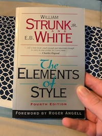 Elements of Style Book  Vaughan, L6A 1Y7