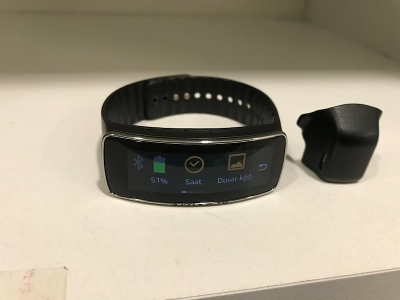 SAMSUNG GEAR FİT SM R350 4