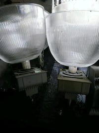 two white and gray desk lamps Dallas, 75223