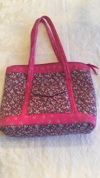 Pretty Pink Quilted Tote/Purse