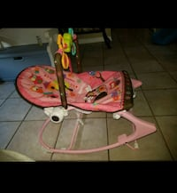 baby's pink and white bouncer Leesburg