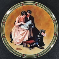 man beside woman while reading book decorative plate Brentwood Bay, V8M 1A3