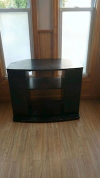 black and gray TV stand Lowell, 01852