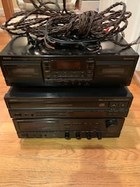 Denon Stereo System incredible condition!!!