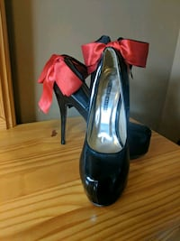 Black Stiletto heels, Size 10 Kitchener, N2A 0B2