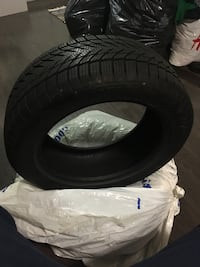 Shoot me an offer on this pretty good condition tires. 2pcs on. All season m+s (mud and snow). 80%