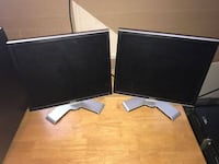 "2 Dell 19"" monitors Frederick, 21703"