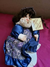 Soft Expressions Porcelain Doll   Middle River, 21220