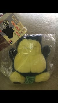 1998 Japanese released snorlax plush toy