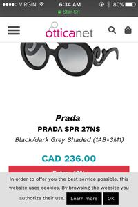 Authentic Prada polarized sunglasses Langley, V3A 8N7