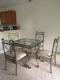 Glass Top Dining Room Table Tampa, 33612