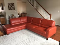 Leather Sectional Sofa Columbia