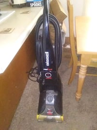 black Bissell upright vacuum cleaner Panama City, 32401
