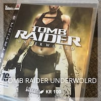 Tomb Raider Underworld til ps3 Skien, 3732