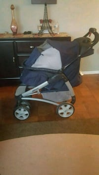 baby's blue and black stroller Alexandria, 22302
