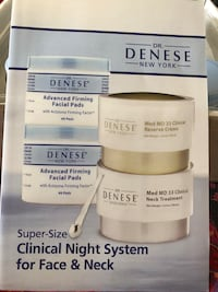 Dr. Denese Super Size clinical night system for Face  and Neck Goodyear, 85338