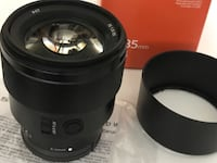 Sony 85 mm F/1.8 e mount (prime lens)