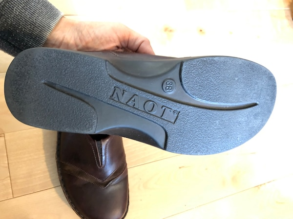 new NAOT leather shoes 059fff84-0f58-4d58-828f-bbb14ecb3e74