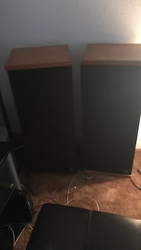 black and gray wooden cabinet