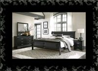11pc black Marley bedroom set Laurel, 20707
