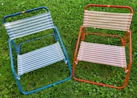 Two Folding Beach/Pool Chairs MINNEAPOLIS, 55414
