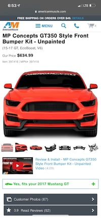 Ford - Mustang - 2017 Weyers Cave, 24486