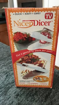 Nicer Dicer Dices & chops Veggies for you Silver Spring, 20902